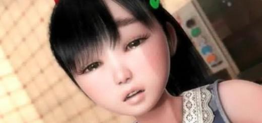 カラオケルームでセックスしちゃう美少女のエロアニメ画像