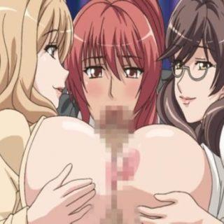 爆乳ヤリマン奥様達と乱交プレイのエロアニメ画像