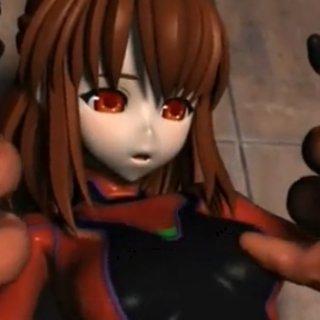 異種姦レイプされる美少女のエロアニメ画像