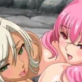 3Pハーレムのエロアニメ画像