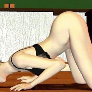 淫乱女教師のエロアニメ画像