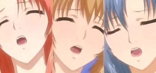 セーラー服の人妻達のエロアニメ画像