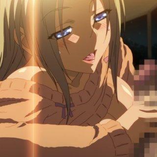 積極的な巨乳美女のエロアニメ画像