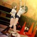 少女が少女に犯されるエロアニメ画像